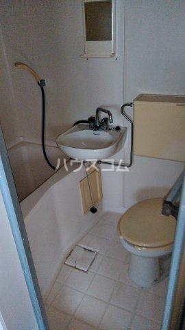 ピュアシティ塙田 401号室のトイレ