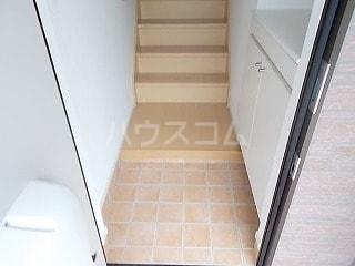 プリムローズ 02030号室の玄関