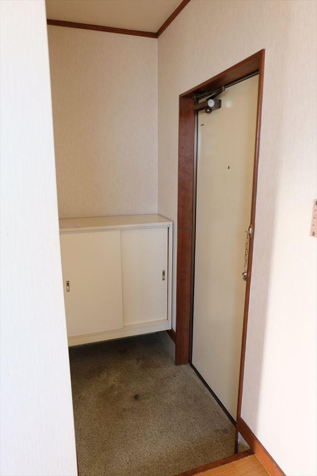 ハシモトハイツ 203号室の玄関