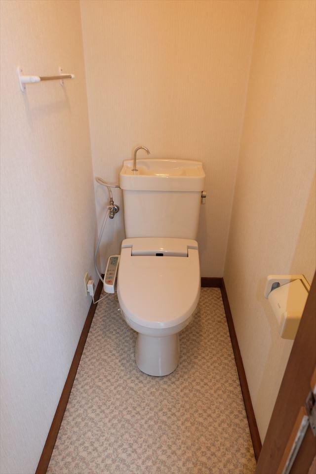 ハシモトハイツ 203号室のトイレ