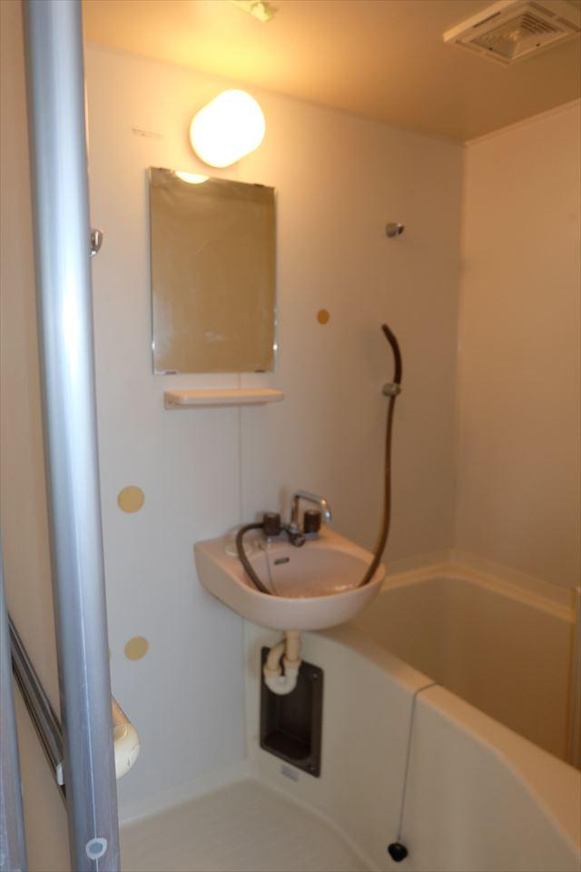 ハシモトハイツ 203号室の洗面所
