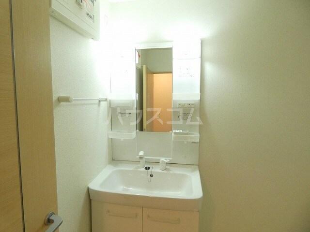 アルファードC 02030号室の洗面所