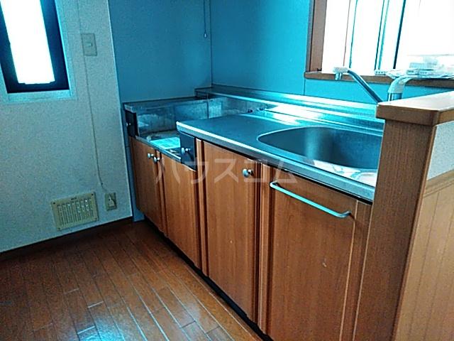 サンガーデン城東 B 101号室のキッチン