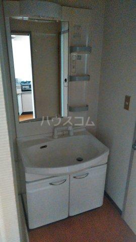 クレストタウン 202号室の洗面所