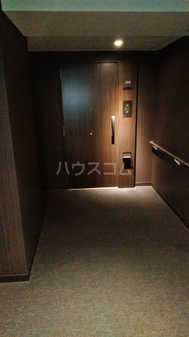 宇都宮PEAKS 309号室の玄関