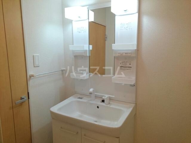 フルールメゾンB 01010号室の洗面所