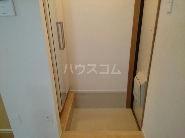 フルールメゾンB 01010号室の玄関