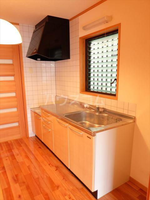ピュアコートアイ 102号室のキッチン