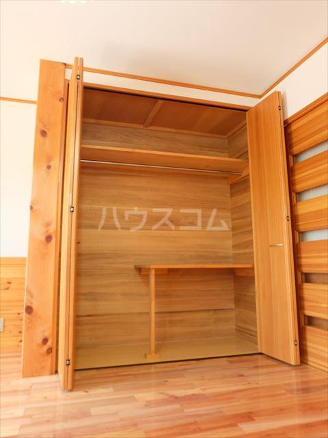 ピュアコートアイ 102号室の収納