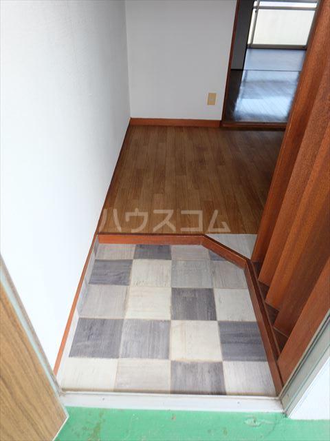 富士ハイツ 102号室の玄関