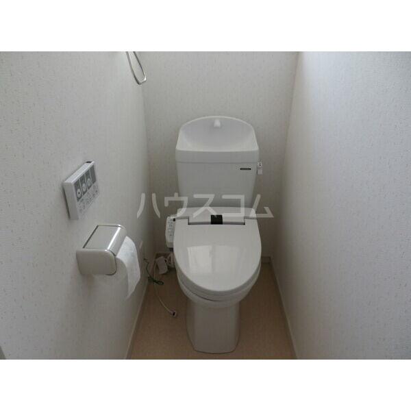 若草4丁目メゾネットのトイレ