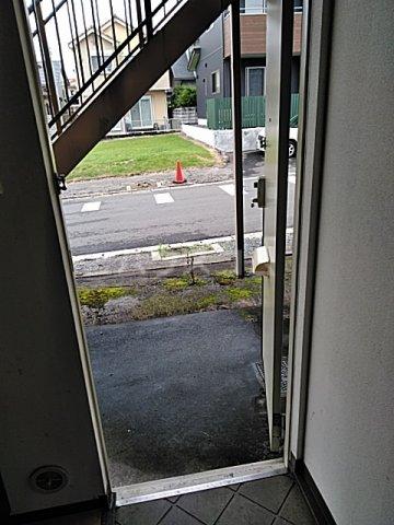 コーポサザンクロス 101号室の玄関