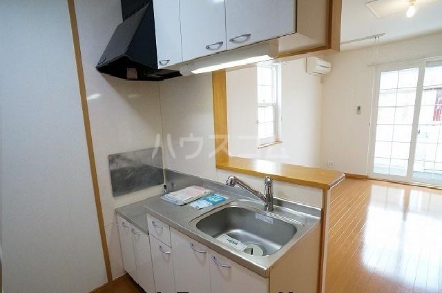 グリーンシティⅡ 01010号室のキッチン