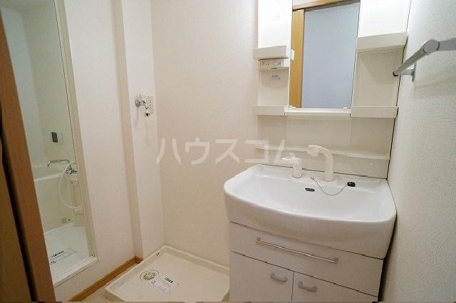 グリーンシティⅡ 01010号室の洗面所