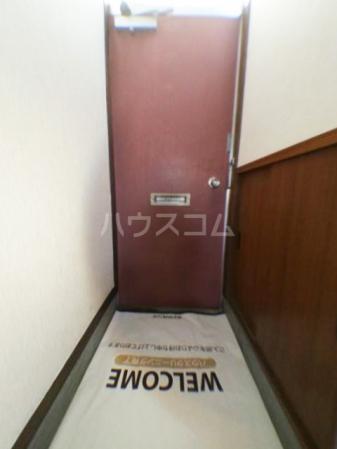 樹園マンション 207号室の玄関