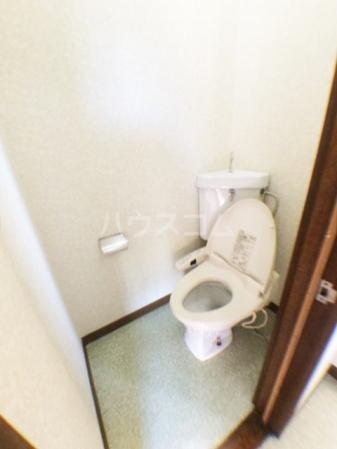 樹園マンション 207号室のトイレ