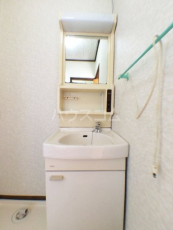 樹園マンション 207号室の洗面所