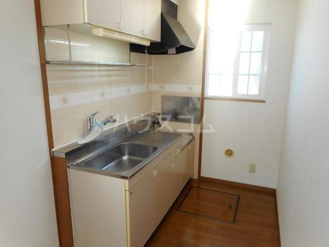 フォンテーヌ・Ⅱ 01010号室のキッチン