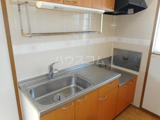 ピースフル2000 Ⅰ 02010号室のキッチン