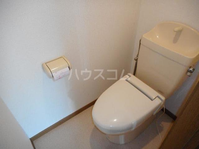 ピースフル2000 Ⅰ 02010号室のトイレ