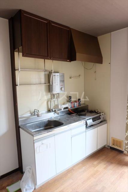 ハピネス・ラフィーネ A 102号室のキッチン