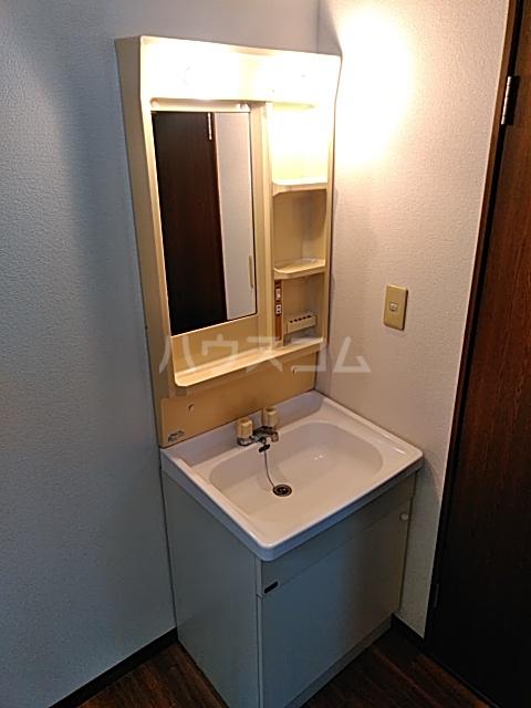 グランドールA 201号室の洗面所