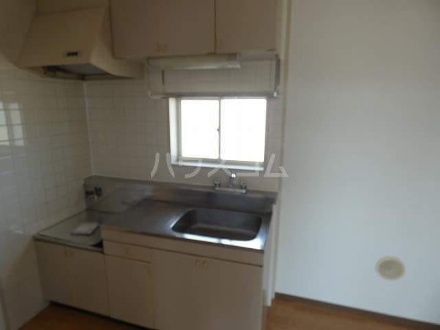 メモリーヒルズ 02010号室のキッチン