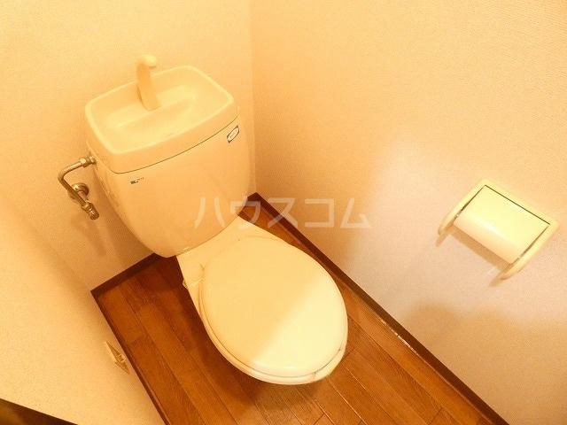 メモリーヒルズ 02010号室のトイレ