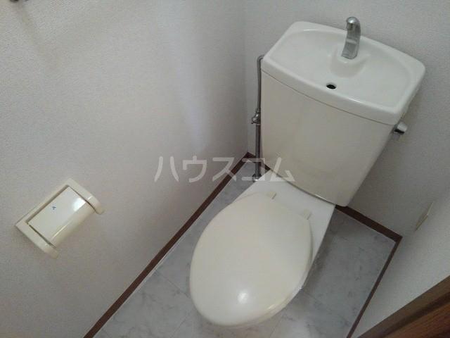ヒラソールグランデ 02030号室のトイレ