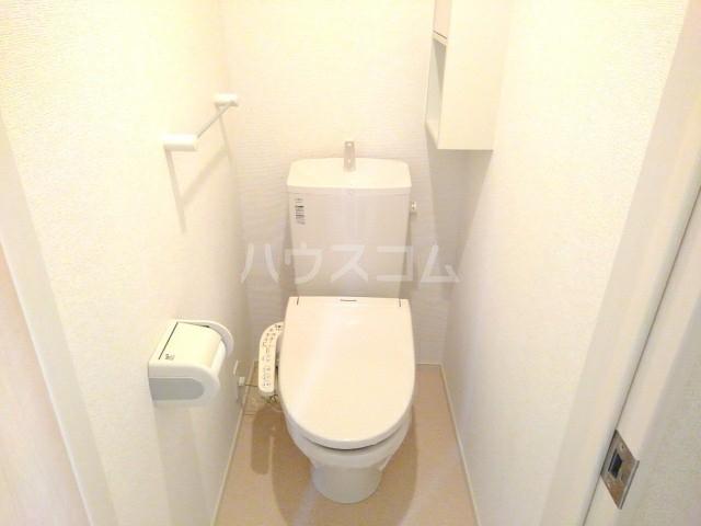 プレミール晃望台 02020号室のトイレ