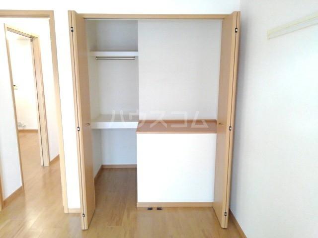 アニメート・ヴィラD 02010号室の収納