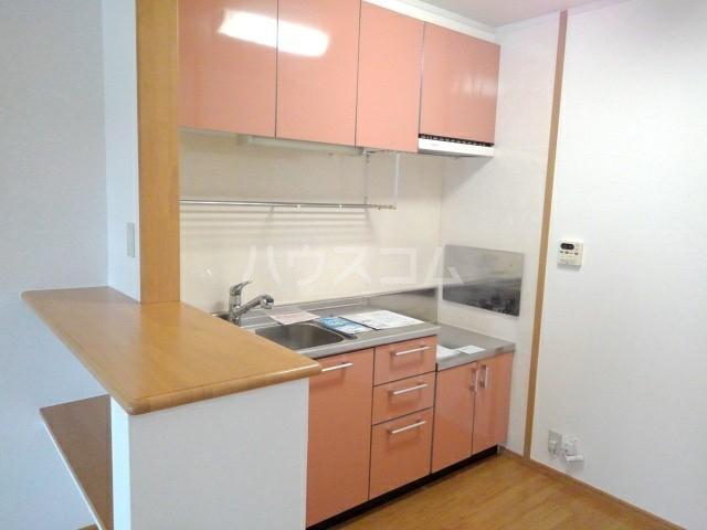 アニメート・ヴィラD 02010号室のキッチン