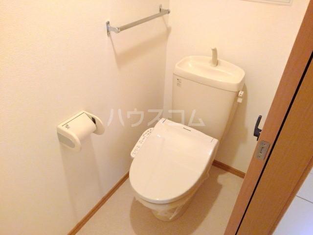 アニメート・ヴィラD 02010号室のトイレ