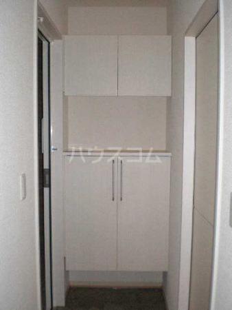 ライネスハイムC 102号室の玄関