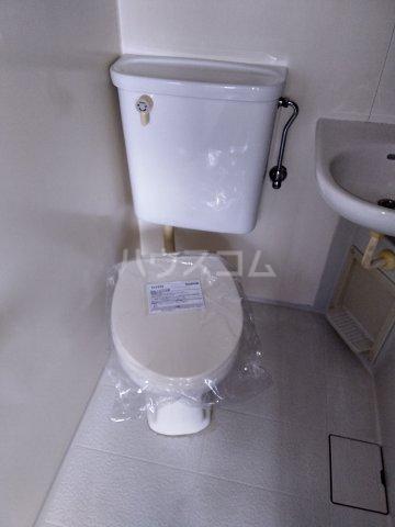 第五みどり荘 201号室のトイレ