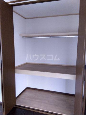 第五みどり荘 201号室の収納