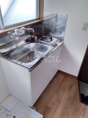 第五みどり荘 205号室のキッチン