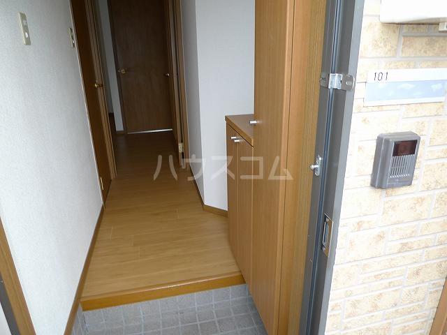ア・ラ・モードエム 01010号室の玄関
