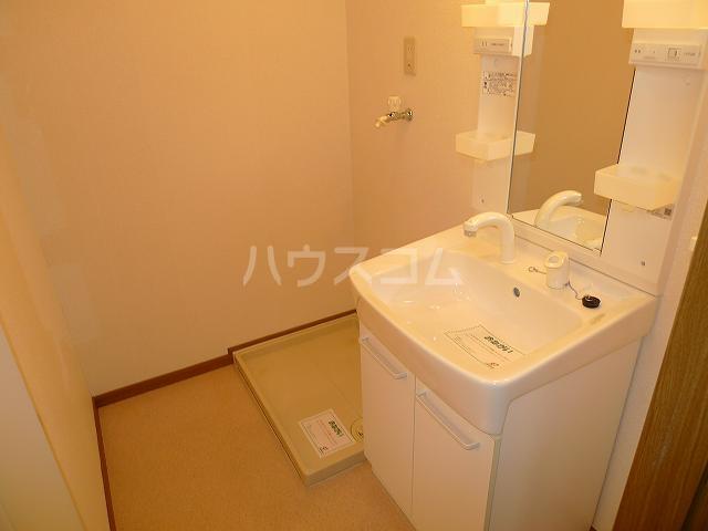 ア・ラ・モードエム 01010号室の洗面所