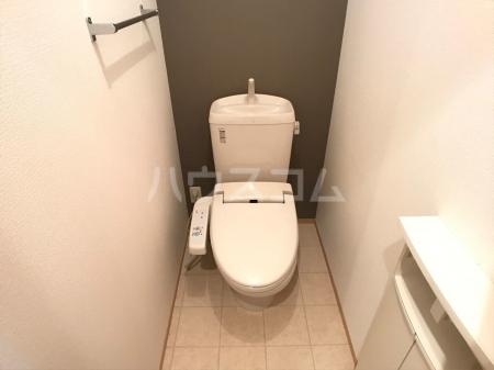 愛宕の杜 D 101号室のトイレ