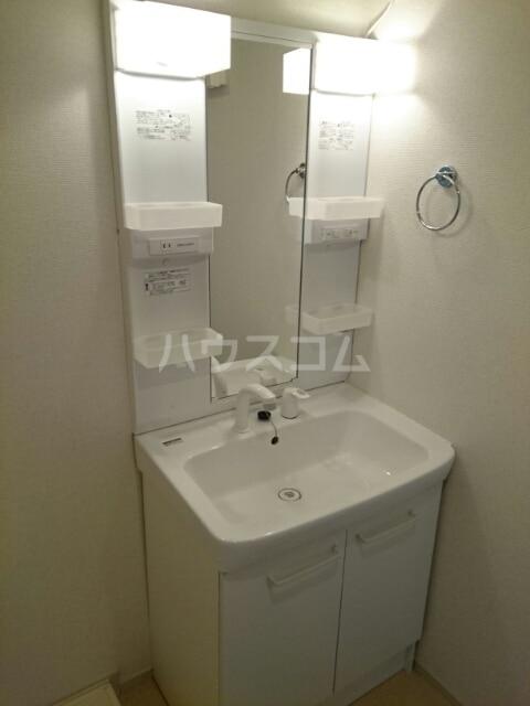 ドゥマン クレールⅠ 02010号室の洗面所