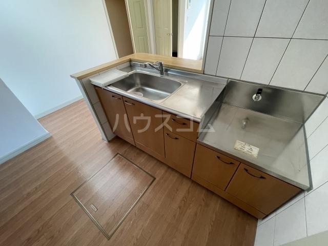 シルフィード 101号室のキッチン