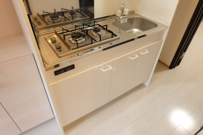 Riverain Ⅲ(リバレイン) 105号室のキッチン