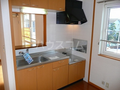 エレガンシアⅡ 02010号室のキッチン
