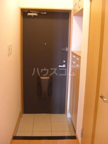ふらわ~ガーデン・波崎B 203号室の玄関