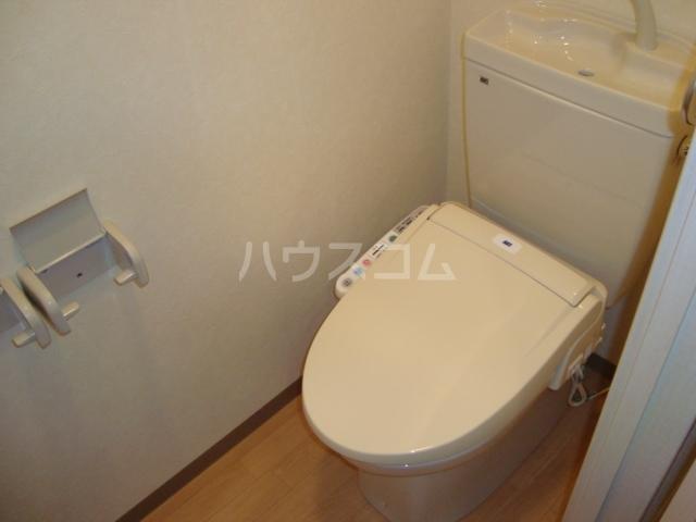 エスポアールB 206号室のトイレ