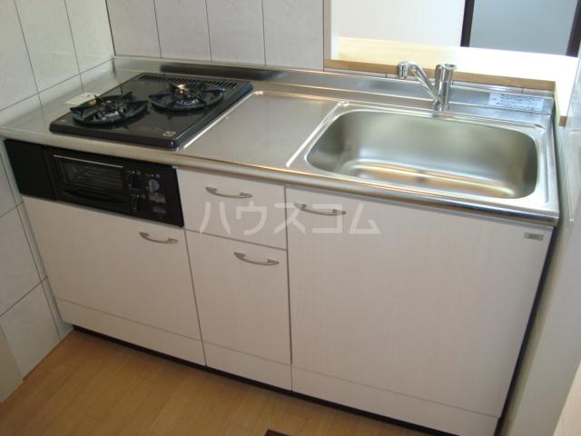 エスポアールB 206号室のキッチン