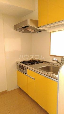 リロイコア WEST 201号室のキッチン