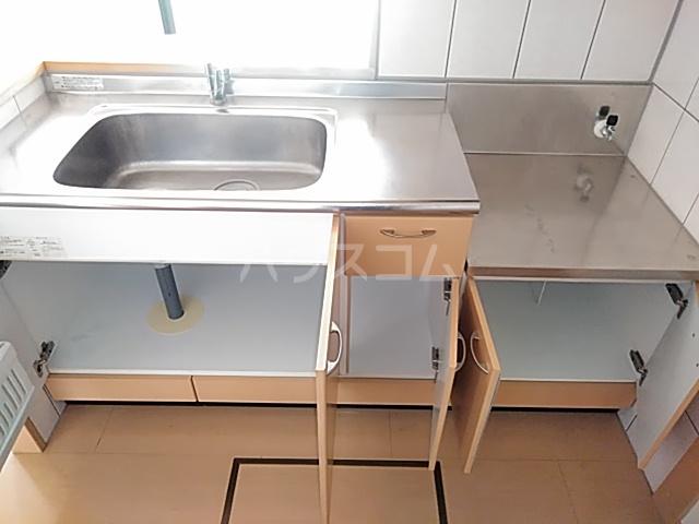 ペティハウスSelene 205号室のキッチン