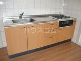 クリスタルハイツA 202号室のキッチン